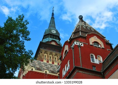 The old City Hall in Subotica, Serbia