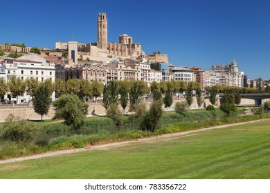 Old City of Lleida, Catalonia.