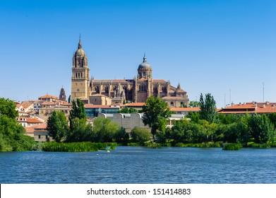 Old city of Salamanca architecture, UNESCO world heritage