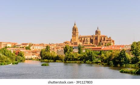Old City of Salamanca, UNESCO World Heritage. Spain
