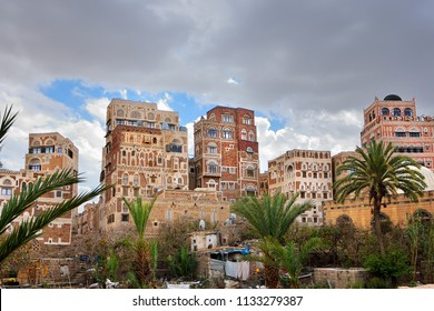 The old city of Sanaa is declared a UNESCO World heritage site, now destroed due to civil war
