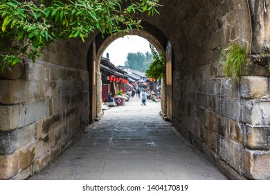 old city in Sichuan China