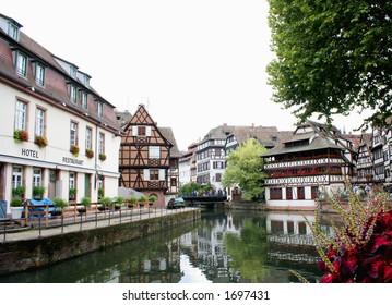 old city of strasbourg
