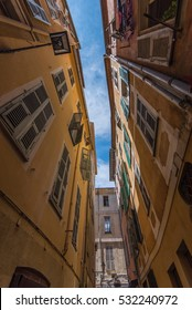 old city tight street