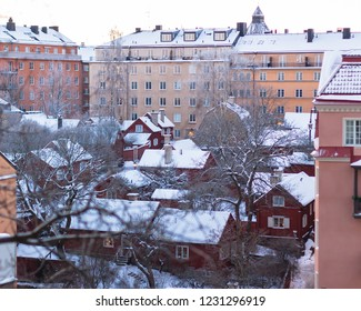 old city view winter