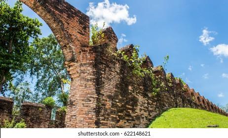 The old city walls of thailand - Nakhon Si Thammarat