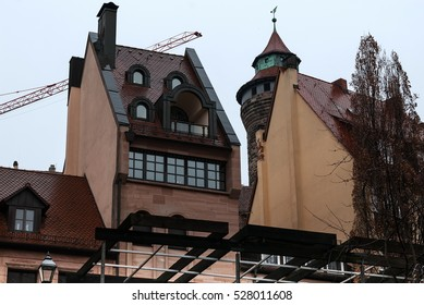 Old city.Nuremberg.Germany.