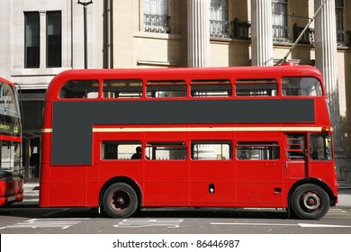 Old classic routemaster bus