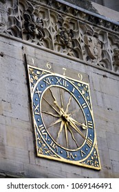 Old clock on a Cathedral
