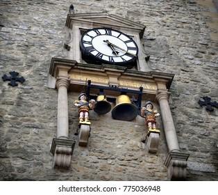 Old clock in Oxford