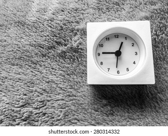 The old clock. There are no time for back.