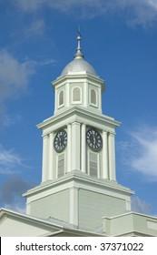 Old clock tower in Natchez Mississippi