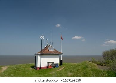 Old Coastguard Lookout on Norfolk coast at Sheringham