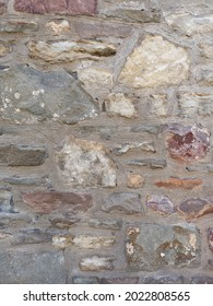 An old cobbled stone wall