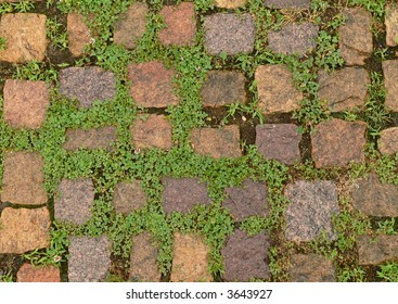 Old cobbles background