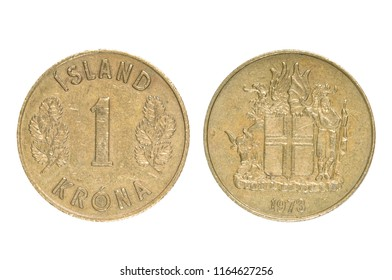 Old Coin of Iceland.
