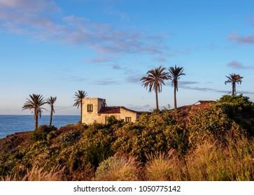 Old Colonial House on the coast near Bajamar, Tenerife Island, Canary Islands, Spain