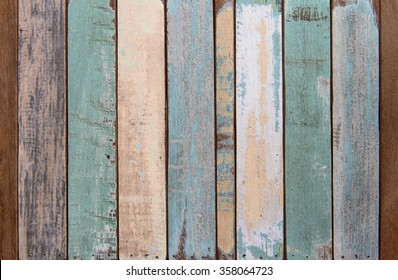 Old color wood texture and background