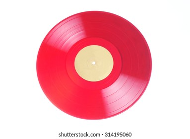 old colored vinyl record.