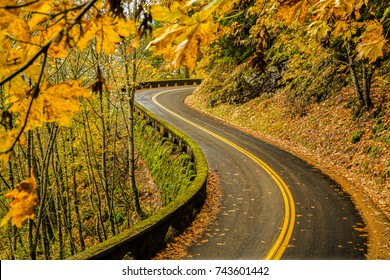 Old Columbia River Highway, Columbia River Gorge National Scenic Area, Oregon