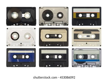 Old compact cassette