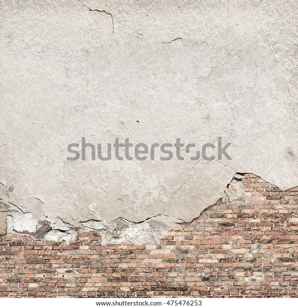 Old Concrete Plaster Brick Wall Texture Stock Photo Edit Now