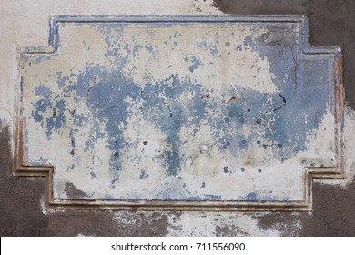 Old concrete wall texture grunge with framework for background.