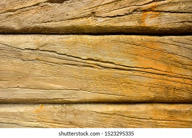 Old concrete wooden background, grunge surface of gray boards.