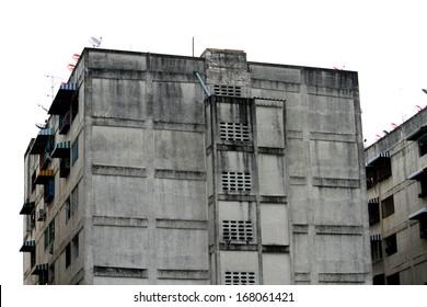Old condominium