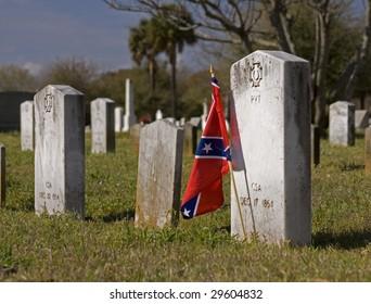 old confederate grave