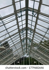 Old Conservatory with Glass Ceiling