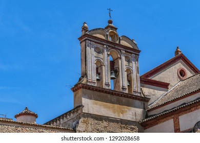 Old Convent of San Francisco (Iglesia de San Francisco) at Compas de San Francisco Square in Cordoba, Spain, Andalusia region. Gothic renaissance temple remodeled in XVIII century in Baroque style.