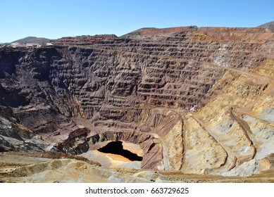 Old Copper mine, copper mine in Arizona