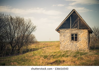 old countryside house