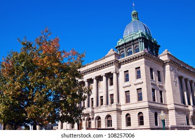 Old courthouse in Manitowoc, Wisconsin