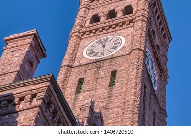 The Old Courthouse in Sioux Falls is a Historical Site made of Sioux Quartzite