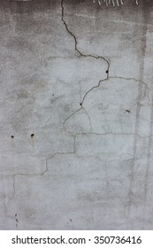 Old cracked concrete gray wall texture
