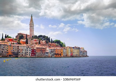 Old Croatian Town Rovinj West Side