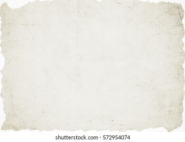 Old crumpled paper texture. Damaged paper background.