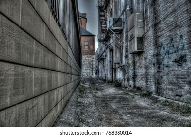 Old crust alleyway