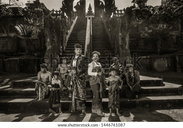 Old Culture Temple Bali Indonesia June Stock Photo Edit Now