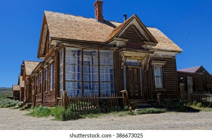 The old Curry house in Bodie California