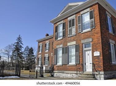old custom building, Oakville, Ontario