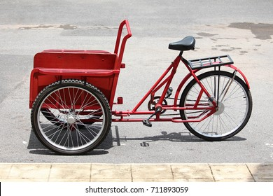 Old cycle rickshaw in Thailand