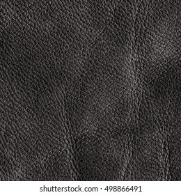 old dark brown leather texture as background