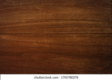 Old dark brown wood wall, Close-up natural wood plank texture background.