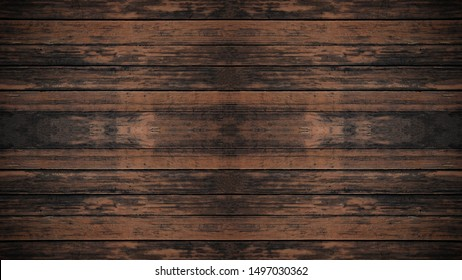 old dark brown wooden texture - wood background