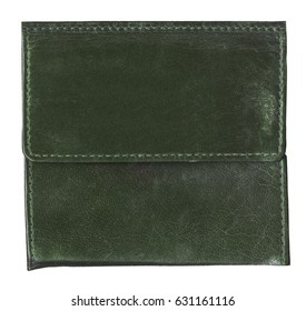 old dark green leather background,seams