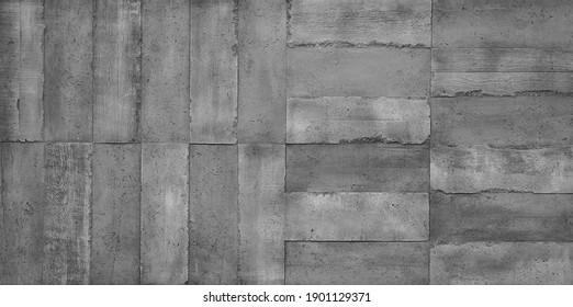 Old dark grey Beton wall