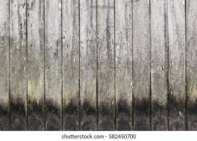 Old dark grungy wooden wall pattern, flat background photo texture